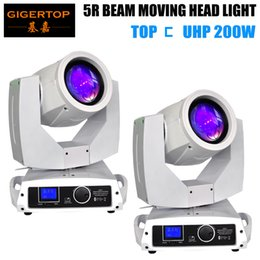 $enCountryForm.capitalKeyWord NZ - TIPTOP White 2 x 230W 5R Beam Moving Head Light Beam 230W Beam Stage Disco Lights DMX512 For Night Club Parties Show DJ Fast Shipping