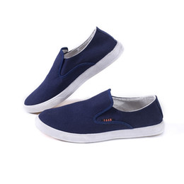 8b19d9d38e4 Hot 2018 New Arrive Style Men Casual Shoes Loafers High Quality Men Shoes  Canvas Male Footwear Comfortable Flat for #264347