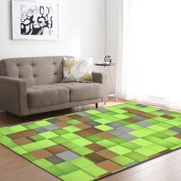 kids play pad 2019 - 3D Printed Rectangle Modern Carpet Hallway Doormat Anti-Slip Area Rug Floormat Kid Play Pad Soft Large Carpet Home Decor