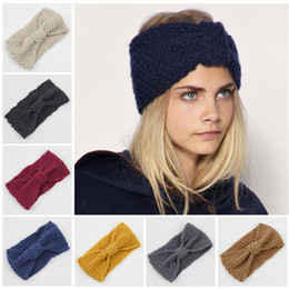 edc42aca4e6 winter adult crochet knitted headbands for hair head band turban headband  head wrap turbante accessories women bands ribbon