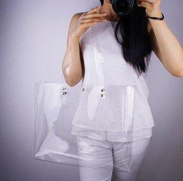 Clear Clutch Bag Australia - High quality women messenger handbag tassel clutch transparent clear bag plastic leather bag day evening purse