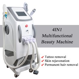 beauty machine tattoo removal NZ - Q switch Nd Yag Laser tattoo removal beauty equipment 532nm 1064nm 1320nm probes multifunctional shr elight machine