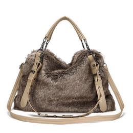 $enCountryForm.capitalKeyWord NZ - good quality Crossbody Bag Hobo Soft Leather Women Tote Winter Three Shoulder Strap Designer Handbags Brand Plush Fur A927