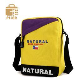 cheap small cross body handbags 2019 - Cheap Unisex Nylon Waterproof Messenger Bag Crossbody Travel Canvas Shoulder Bag Fashion Small Handbags Casual Pack Coin