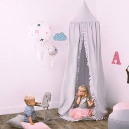 $enCountryForm.capitalKeyWord Australia - New Cotton Baby Canopy Mosquito Net Anti Mosquito Princess Bed Canopy Girls Room Decoration Bed Pest control Reject Net