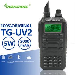 $enCountryForm.capitalKeyWord Australia - Quansheng TG-UV2 High Quality Powerful 5W Walkie Talkie VHF UHF Dual Band Ham Radio TG UV2 FCC CE Amateur Radio Comunicador 10KM