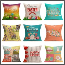 $enCountryForm.capitalKeyWord UK - 23 Styles Easter Linen Pillowcase Sofa Car Cushion Covers Decorative Chair Waist Throw Pillow Home Party Decor Pillowcase hot selling