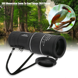 Telescope glasses online shopping - 30 X Dual Focus Dual Green Film Powered Big Eyepiece Monocular Telescope Optical Glass Lens Viewing Bird Watching Travel Tool