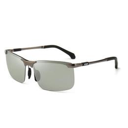 Red Frame Glasses Black Lenses Australia - Sunglasses For Men Brand Fashion Designer Sun Glass Pilot Frame Coating Mirror Lens Carbon Fiber Legs Summer Style Eyewear