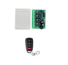 $enCountryForm.capitalKeyWord NZ - DC 12V 4CH Wireless Remote Control Controller Radio Switch 433mhz Transmitter Receiver High Sensitivity for led curtain door