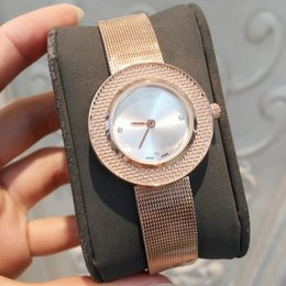 Small Round Clocks Australia - Drop shipping Montre Fashion dress Watches women small clock female casual Quartz Watch Stainless Steel Party gift for girls Nice wristwatch