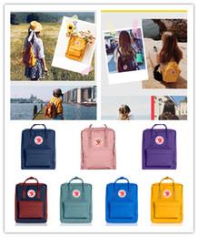 $enCountryForm.capitalKeyWord Australia - Swedish Fjallraven Kanken Designer Backpack Luxury Mini Kids Classic for Childs Sports Cute Girls Handbag Trendy Classic Street Bags