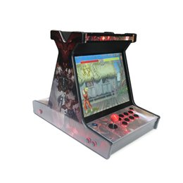 China 1300 in 1 VGA game board with HD, 17 inch LCD mini arcade game machine suppliers