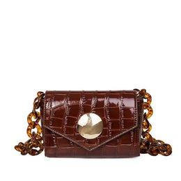 Chain Designs Handbags Australia - Hot 2019 Classic Design Small Flap With Chains Crossbody Bag Women Pu Leather Handbags Lady Messenger Bag For Female An762