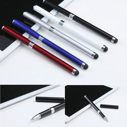 $enCountryForm.capitalKeyWord Australia - SZAICHGSI 2-in-1 Capacitive Touch Screen Stylus Pen and Ball Point Pen for iPad Air 2 1 Mini 1 2 3 4 iPhone 8 7 Smart Phone Tablet PC Pen