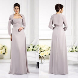 Mother Bride Floor Length Jacket Dress Australia - 2019 Latest Mother of the Bride Dresses with Jacket Sweetheart Satin Evening Gowns Custom Made Floor Length A Line Wedding Guest Dress