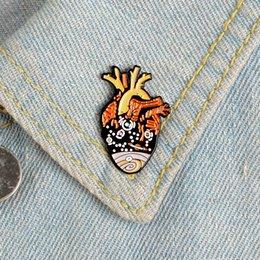 Cowboy oil online shopping - Student badge couple pin Cartoon oil drop universal star enamel heart brooch cowboy collar bag accessories heart badge