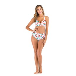 Wholesale cut out high leg swimwear online – 2020 Sexy Cut Out Bikini Female Swimsuit Women Swimwear Two Pieces Bikini Set High Leg Cut Bather Bathing Suit Swim Lady V1951