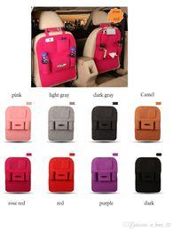 car sales organizer 2019 - 2018 Hot Sale Auto Car Seat Back Multi-Pocket Storage Bag Organizer Holder Accessory Multi-Pocket Travel Hanger Backseat