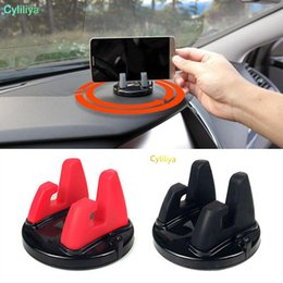 Wholesale 360 Degree Car Phone Holder Dashboard Sticking Mobile Phone Holder Stand Mount For Less inch Phone Desk Stand Support Bracket
