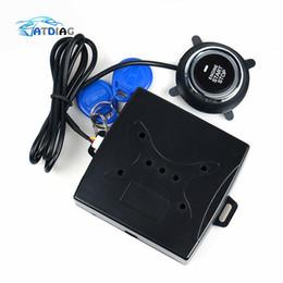 $enCountryForm.capitalKeyWord Australia - Anti-theft System Auto Car Alarm Engine Starline Push Button Start Stop RFID Lock Ignition Switch Keyless Entry System Starter