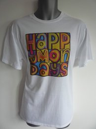 rave t shirts NZ - HAPPY MONDAYS MENS WOMENS KIDS LOGO TSHIRT MADCHESTER RAVE INDIE DANCE BEZ RYDER Gift Print T-shirt Hip Hop Tee Shirt cheap wholesale