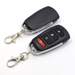 cloning universal gate garage remote NZ - Fcarobd 1pc AL006 Mini Copy Code 4 Channel Universal Remote Control Cloning Duplicator Key Transmitter 433MHz Learning Garage Door Gate Open