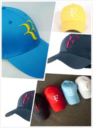 $enCountryForm.capitalKeyWord Australia - High Quality Wholesale drop Shipping Men Summer Cool Mesh Caps Roger Federer RF Tennis Fans Caps Cool Summer Baseball 2020