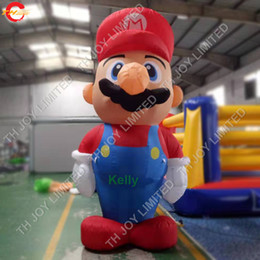 cheap wholesale inflatables UK - 5pcs lot 10ft high inflatable cartoon for sale commercial advertising inflatable air balloon cheap inflatables for outdoor promotion