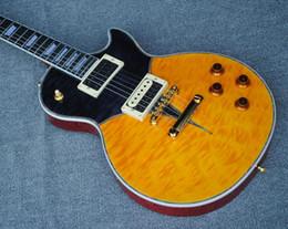 $enCountryForm.capitalKeyWord UK - Rare Custom Shop Standard Yellow Burst Electric Guitar Black burst New Standard Version China Guitars