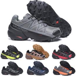 Ingrosso 2020 Speed Cross scarpe outdoor 5 un'escursione scalata di alpinismo scarpa da tennis delle donne degli uomini sneaker Eur40-46