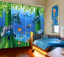 $enCountryForm.capitalKeyWord Australia - custom 3d european style curtain The underwater world 3d curtains for bedroom living room 3d photo room curtains