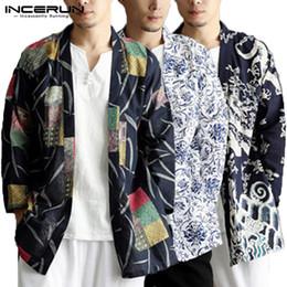 $enCountryForm.capitalKeyWord Australia - Ethnic Chinese Mens Cloak Trench Long Sleeve Tops Hiphop Cardigan Autumn Coats Fashion Coats 5XL Femininas Outwear Hombre Mantle