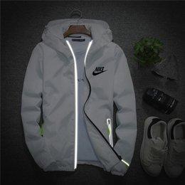 Moda masculina respirável jaqueta nova jaqueta casual confortável primavera outono jaqueta reflexiva n4005 venda por atacado