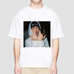 T Shirt Hip Hot Australia - Lil Xan T Shirt Hip Hop Summer Hot T-shirt Youth Rapper Rock Lil Xan Xanarchy Streetwear cool Tshirt For Men Homme top tee