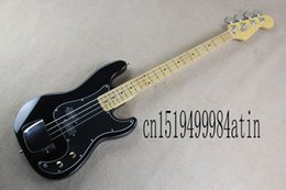 China 2019 New Arrival Custom Guitar F Precision Bass Guitar Burlywood 4 Strings black Bass Electric Guitar supplier precision basses suppliers