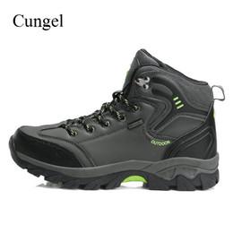 $enCountryForm.capitalKeyWord NZ - Cungel New High Cut Men Winter waterproof Boots Men's Outdoor Hiking Shoes Man Trekking Shoes Mountain Climbing Sneakers