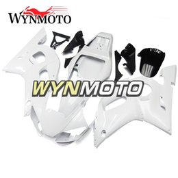 $enCountryForm.capitalKeyWord NZ - Full Pearl White Motorcycle Fairings For Yamaha YZF 600 R6 1998 1999 2000 2001 2002 ABS Plastic Injection motorbike Kits cowlings covers
