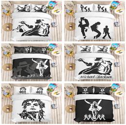 $enCountryForm.capitalKeyWord Canada - Michael Jackson Design Bedding Set 2PC 3PC Duvet Cover Set Of Quilt Cover & Pillowcase Twin Full Queen King Size