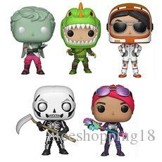 skeleton action figure Canada - 2019 new FUNKO POP Night of the fortress doll Love knight errant Bomber Skeleton cavalryrex Action Figures Children Toys toy