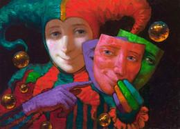 $enCountryForm.capitalKeyWord Australia - Modern Art Victor Nizovtsev Canvas Prints oil painting Kids Room Christmas Decorations Wall Picture best Christmas gift vk 16