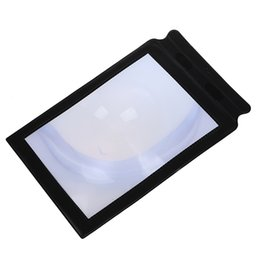 small bookmarks UK - New-Large Bookmark Magnifier Sheet Magnifying 3X Magnification--Used for Reading Small Print of Newspapers, Magazines, Books, et