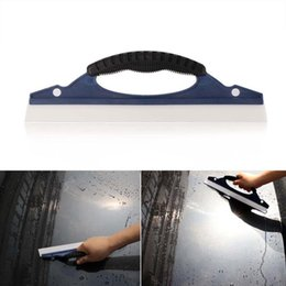 car wipers water Australia - Car windshield wiper brush Silicone home Car Water Wiper Squeegee Blade Wash Window Glass Clean Shower New jun1