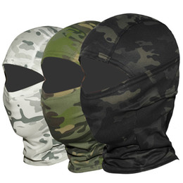 China Multicam CP Camouflage Balaclava Full Face Mask Wargame Cycling Hunting Army Bike Military Helmet Liner Tactical Airsoft Cap suppliers