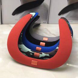 portable radio player headphones 2019 - headphones NEW SOUND GEAR Mini Portable Bluetooth Speakers J Logo Wireless Handsfree Neck Speaker Subwoofer Support TF a