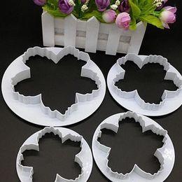 Peony Cutters Australia - 4 Pcs Lot Hot Selling Peony Flower Petal Fondant Sugarcraft Cake Cookie Cutter Mold Decor Mould VBG74 P12 0.5