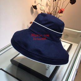 $enCountryForm.capitalKeyWord Australia - casquette Fashion Sun Hat Women's men's floppy hats Foldable Wide Large Brim Floppy bucket hat Summer Beach Sun Cap new-er5