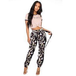 camouflage outfits women Australia - Best Sell Hip Pop Camouflage Cargo Pants Trends Fashion Ladies Girls Sexy New LS6114 Camo Leopard Club Party Outfits Streetwear Clubwear
