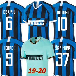 9e587c2df 19 20 Inter soccer jersey LAUTARO ICARDI PERISIC NAINGGOLAN milan football  shirt inter 20 anniversary 2019 2020 POLITANO maillot de foot