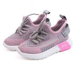 $enCountryForm.capitalKeyWord Australia - Kids Designer Sneakers Shoes Breathable Flying Woven Mesh Coconut Shoes New 2019 Big Boy Shoes Kids Mens Black Kids Sneaker 2PC